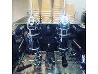Beautiful Frachino Dual Fuel Lever Coffee Machine
