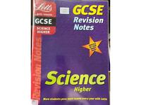 Let's GCSE Revision notes for higher science