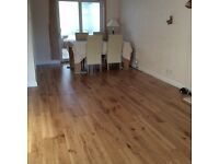 Beautiful real engineered oak wood flooring