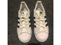 Adidas Superstar Trainers Size 5.5