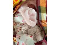 Loads of baby girl stuff £50