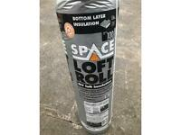 SPACE loft roll installation