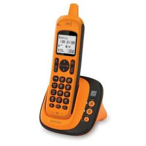 NEW Motorola XT801 DECT 6.0 Rugged Waterproof Cordless Phone with Bluetooth® Connect