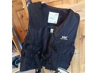 Helly Hanson black buoyancy aid size M