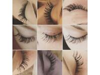 Individual mink eyelash extensions full sets £25 mobile