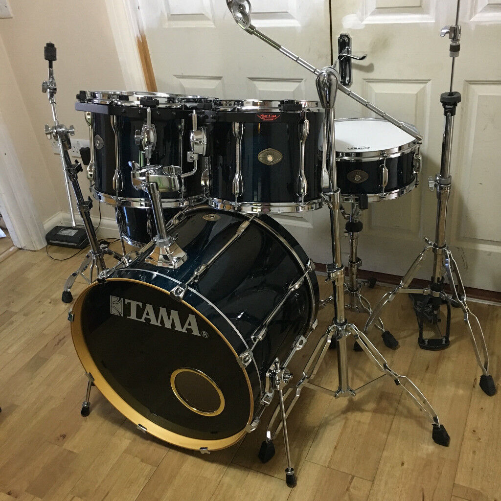 Fully Refurbished Tama Rockstar Custom Drum Kit Free Local Delivery
