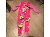 Brand new dispicable me onesie by Primark. Age 5/6