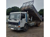 Left hand drive Volvo FL10.360 Intercooler 19 Ton 3 way tipper. Telma Retarder. TD102F engine.