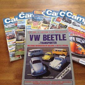 VW BUS T4&T5 VW MAGAZINES + VW Hardback Book (JOB LOT 25+)