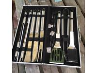 BBQ tool set... brand new