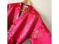 Vintage Kimono Style Dressing Gown