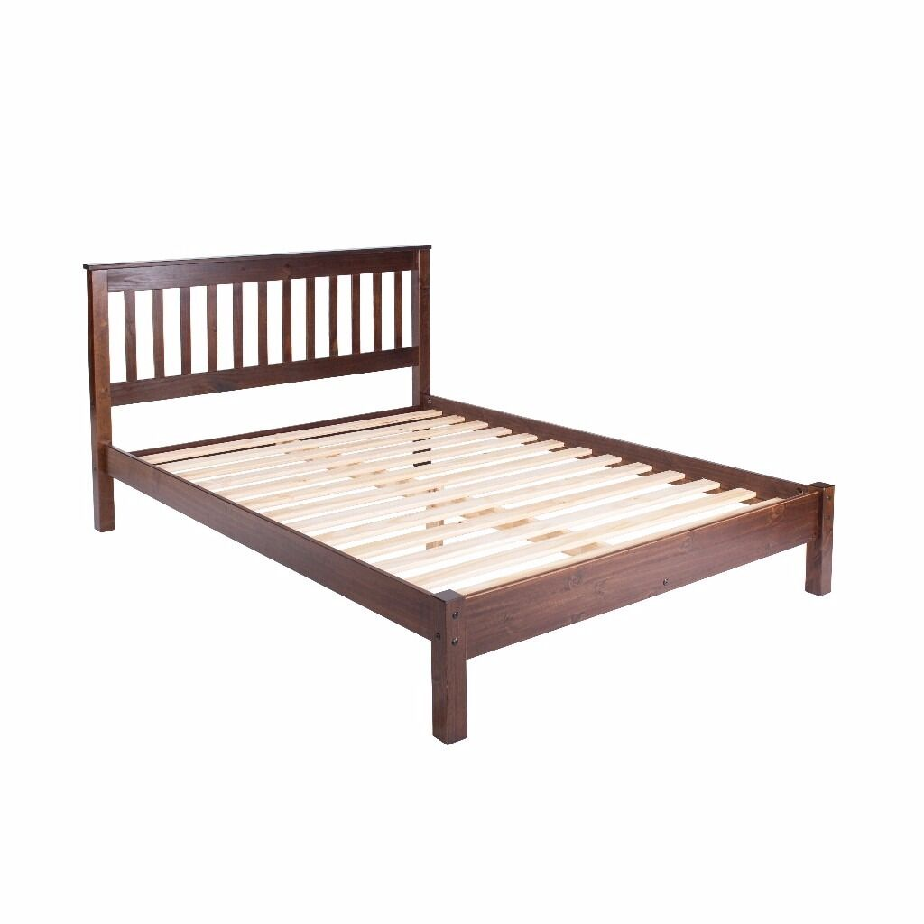 Boston Pine Double Bed **Home Delivery Available**