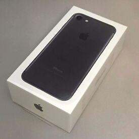 Brand new Apple iPhone 7 32gb black unopened