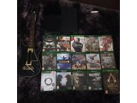 XBOX ONE 500GB 12 GAMES + GUITAR HERO CONTROLLER.