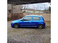 Renault Clio 182 Sport Artic Blue