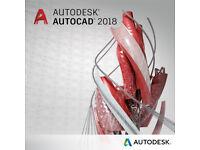 AUTODESK AUTOCAD 2018 PC/MAC: