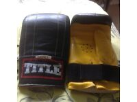 TITLE Boxing Gloves, as new
