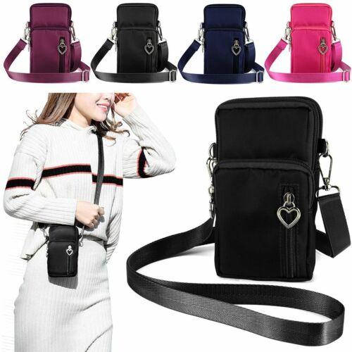 Women Small Cell Phone Purse Wallet Handbag Case Shoulder Ba