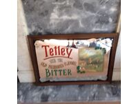 Tetleys Pub Mirror