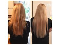Mobile Pre bonded + Micro Loop Hair extension service