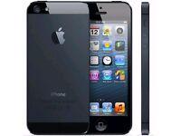 Apple Iphone 5 16GB Black (Unlocked) in good condition