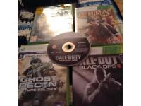 10 Xbox 360 games £10
