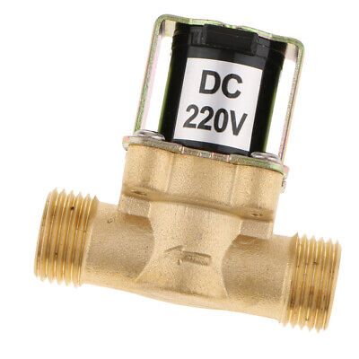 Brass Electromagneticinlet Water Solenoid Valve 4 Points Outer Teeth 220v.