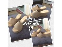 Shoes new and used size 6/6.5/7