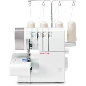 Overlock Sewing Machine Singer 14SH754 2/3/4 Thread Boxed Craft Art Lady Fashion