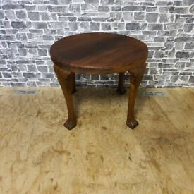Antique Solid Wood Small Dining Table