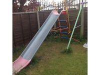 Kettler metal outdoor jumbo slide