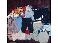 3-6 months boys bundle of clothes