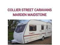 2004 coachman amara 520/4berth caravan +WARRANTY