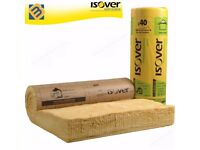 Isover Acoustic Partition Insulation Roll Wall Floor Loft Roll | 25mm 50mm 65mm 75mm 100mm