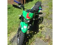 Bosuer BSR 125 pitbike