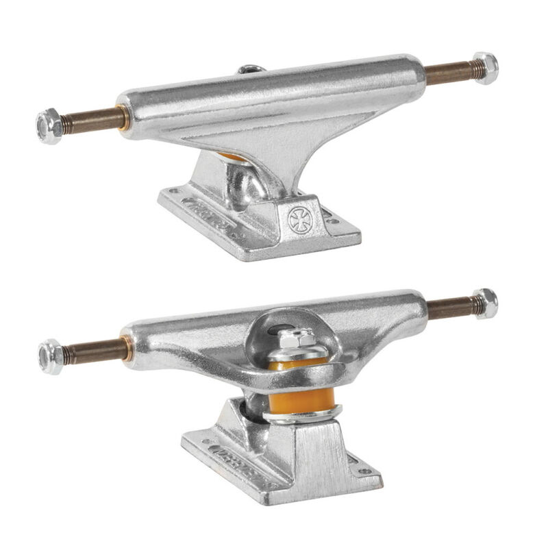"""Independent Skateboard Trucks Stage 11 Standard Silver Raw 139 (8.0"""") Pair of 2"""