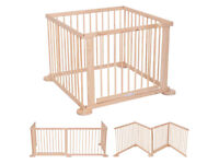 Costway Baby Playpen Wooden
