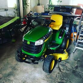 John deer ride on mower