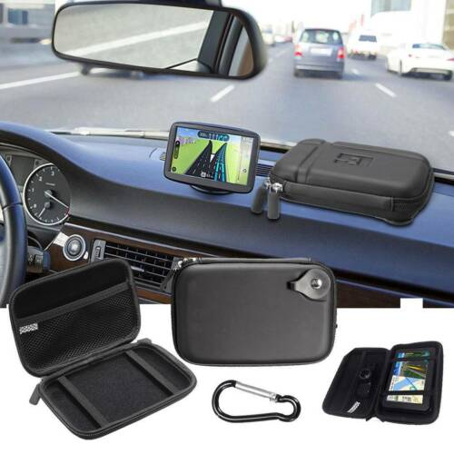 "5.2"" Hard Shell Bag GPS Case Carry Pouch For GPS Protective TomTom Garmin SatNav"