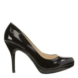 BRAND NEW IN BOX - ORIGINAL NINE WEST Kristal Platform Pumps  - BLACK ONLY - ALL SIZES AVAILABLE
