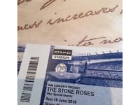 Standing Stone Roses Tickets