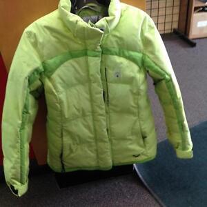 Spider Down Ski Jacket - women's 14- green (sku: Z14873)