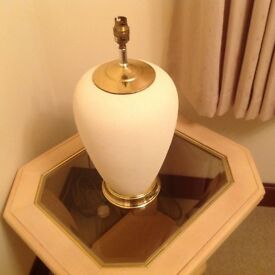 Table lamp and table