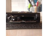 FOR SALE JVC CAR RADIO/CD PLAYER
