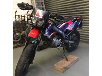 derbi senda 50 sm with ital bore kit