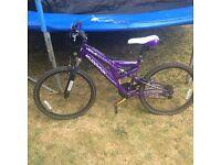 2 identical Girls/Ladies Muddy Fox Venus bikes for sale. Excellent condition.