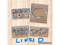 Pandora charms An bracelet £10 each