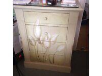 Bedside cabinets/dressing table