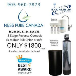 October Savings Package: Chlorasoft and Reverse Osmosis Promo