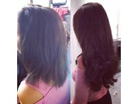Fully qualified mobile hair extensionist. Qualified in great lengths and beautworks hair.